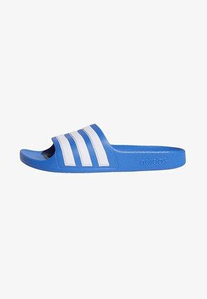 ADILETTE AQUA SLIDES - Pool slides - blue