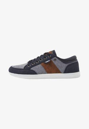 KUNZO - Sneakersy niskie - navy/cognac