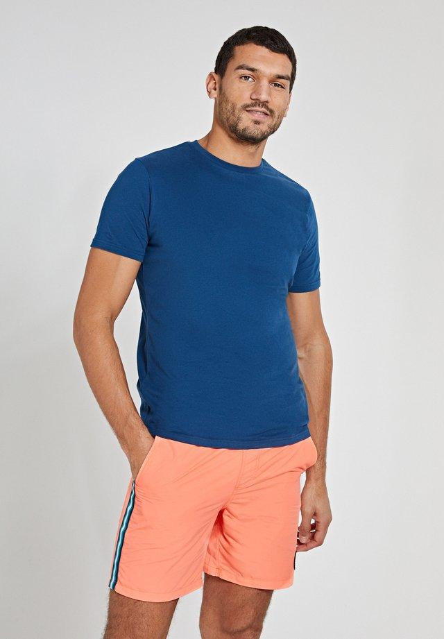 ROBBERT SOFT SOLID - T-shirt basic - poseidon blue