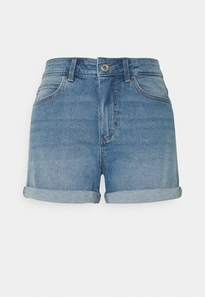 PCPACY  - Denim shorts - light blue denim