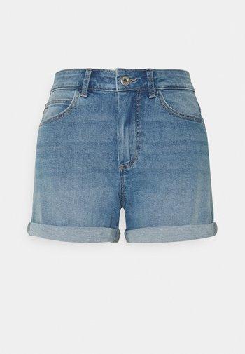 PCPACY  - Shorts di jeans - light blue denim