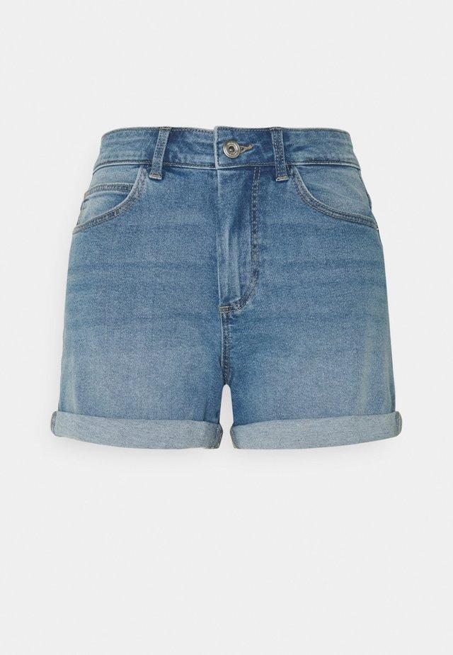 PCPACY  - Jeansshort - light blue denim