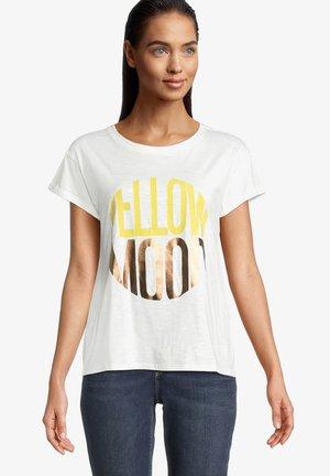 T-Shirt print - rohweiß