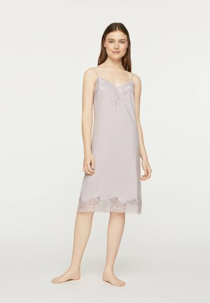 SATIN MIDI 31934310 - Nightie - mauve
