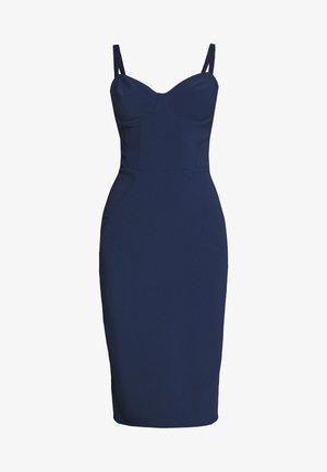 Shift dress - blue navy