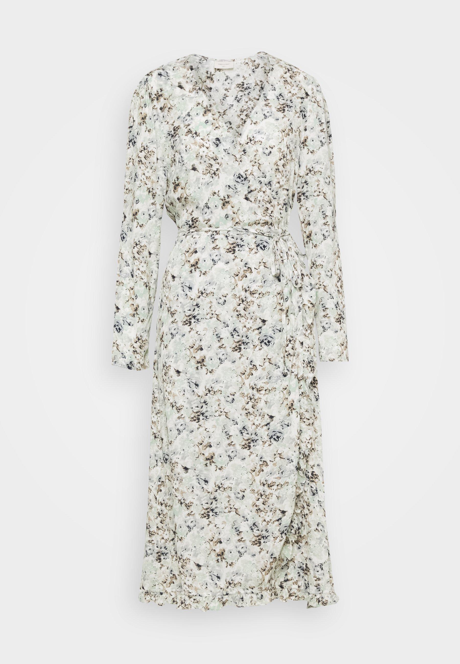 Women FQMAREY FRIL - Maxi dress