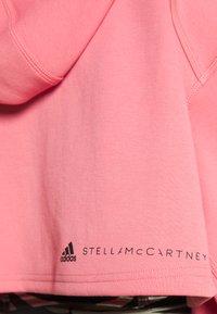 adidas by Stella McCartney - ADIDAS BY STELLA MCCARTNEY SC CR HOOD TRAINING WORKOUT PRIMEGREEN HOODED TRACK TOPHOOD - Mikina na zip - hazy rose - 6