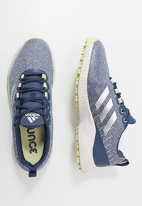 adidas Golf - RESPONSE BOUNCE 2 SL - Obuwie do golfa - tech indigo/footwear white/yellow tint - 1