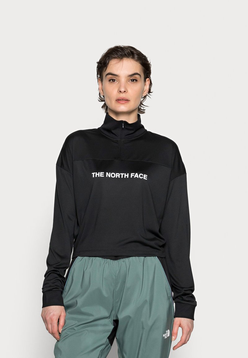 The North Face - Long sleeved top - black
