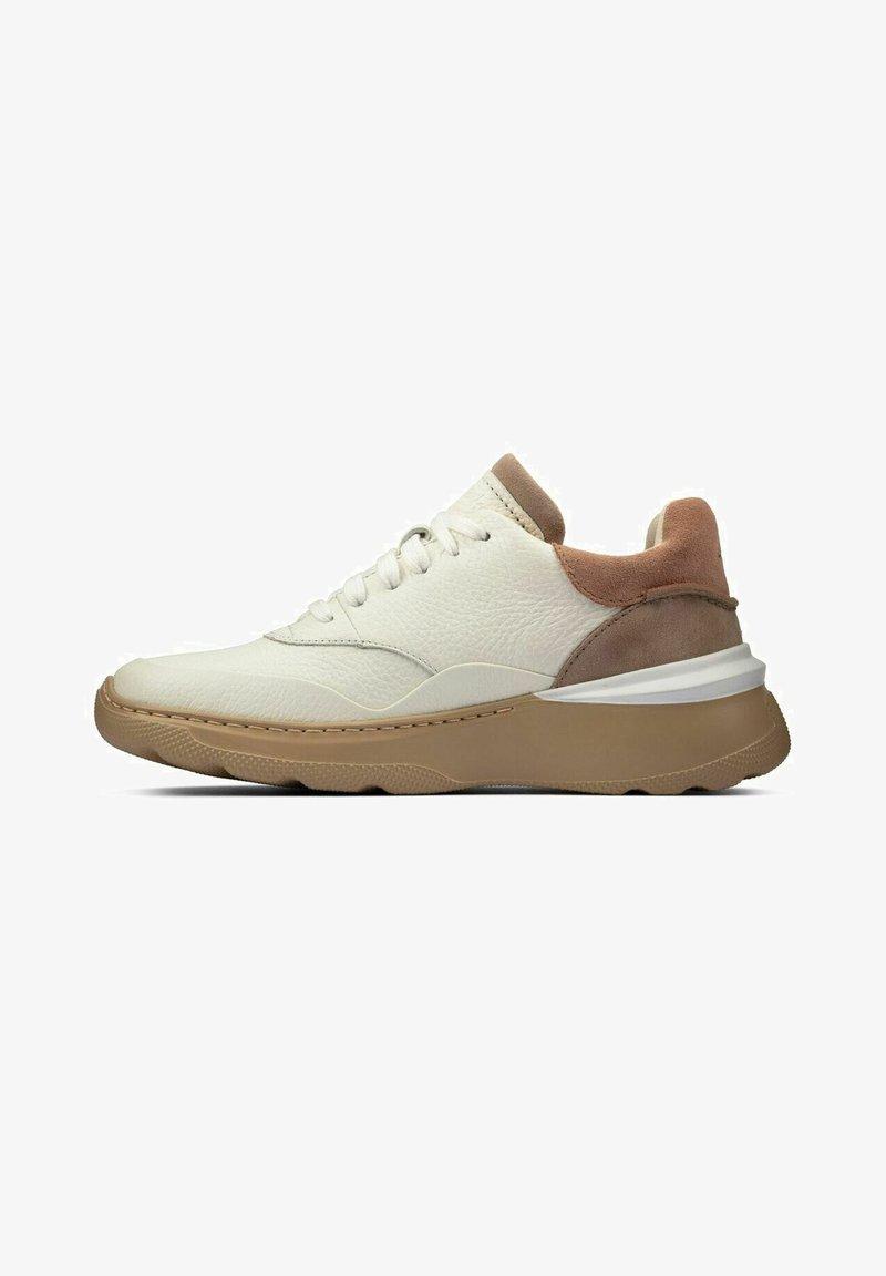 Clarks - SPRINTLITELACE - Baskets basses - white  leather