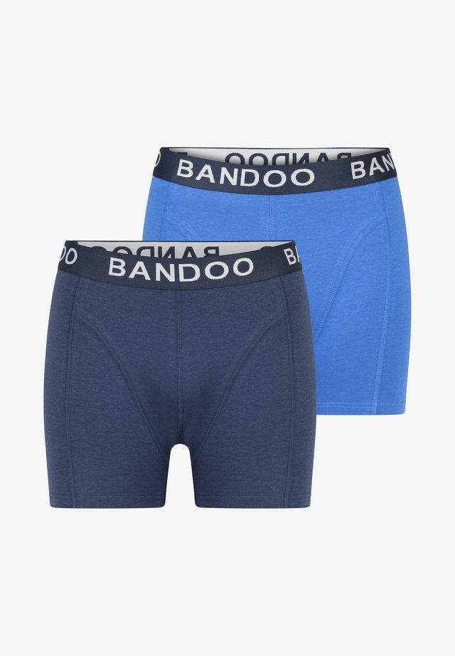 2PACK - Onderbroeken - navy blue, cobalt blue