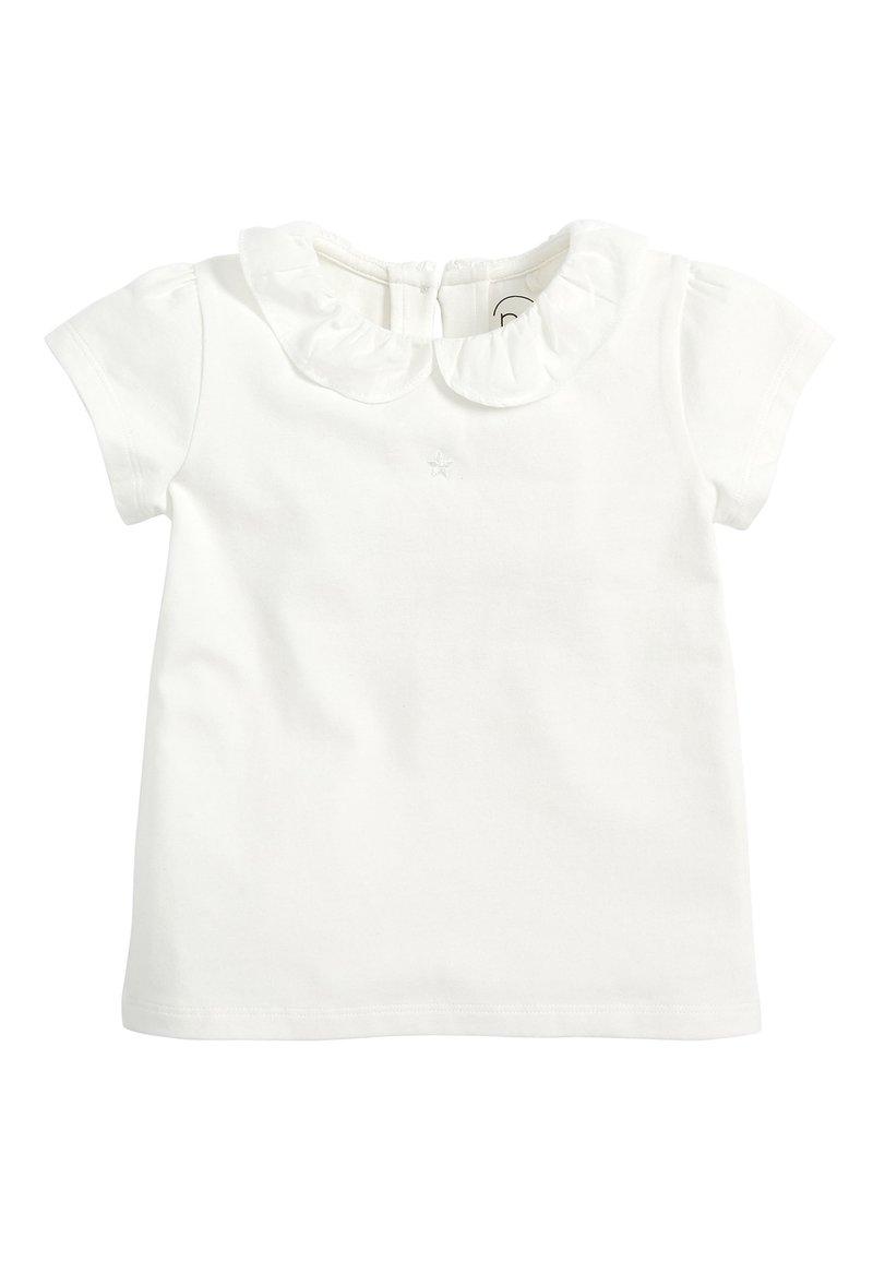 Next - SHORT SLEEVE - Print T-shirt - white