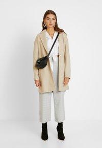 Topshop - JANE CHUCK ON - Classic coat - oat - 1