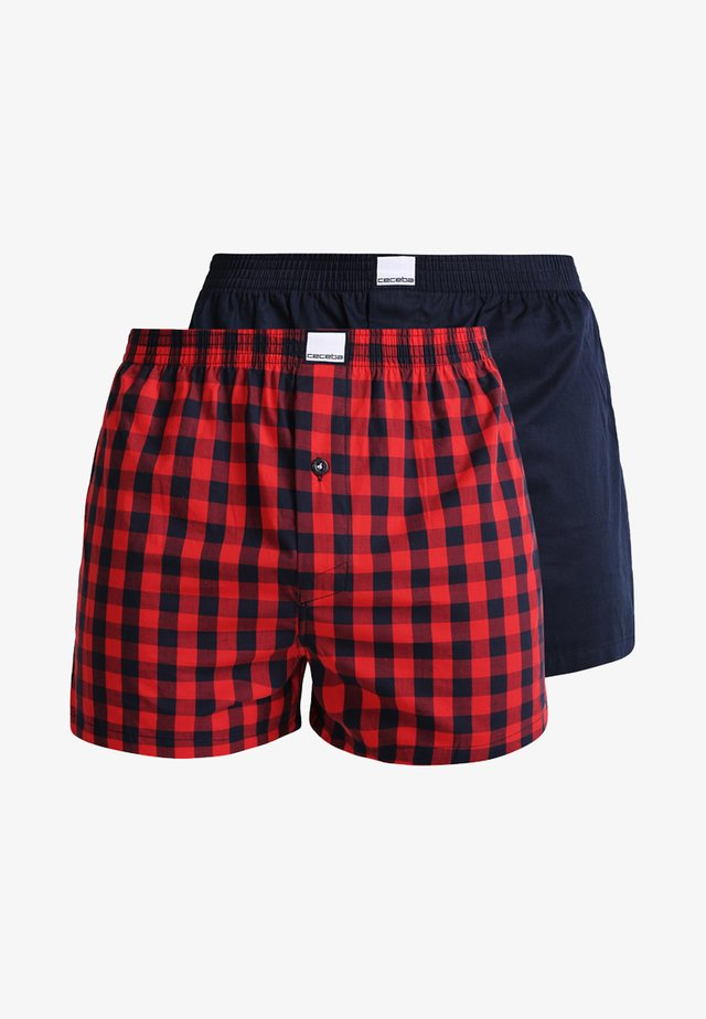 2 PACK - Boxer  - red medium
