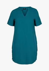 Zizzi - JHELLE - Shirt dress - petrol - 3