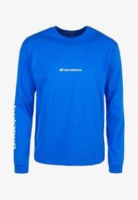 New Balance - Long sleeved top - vivid cobalt - 0