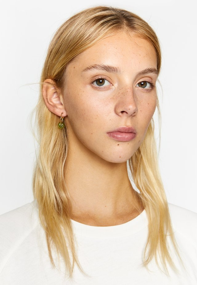 Earrings - aquamarine