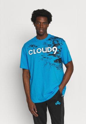 GRAPHIC TEE - T-shirt med print - bleu azur