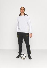 adidas Performance - JUVENTUS TURIN  - Club wear - black/acid yellow - 1