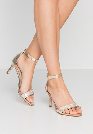 BLINGER TRIM  - Sandals - gold