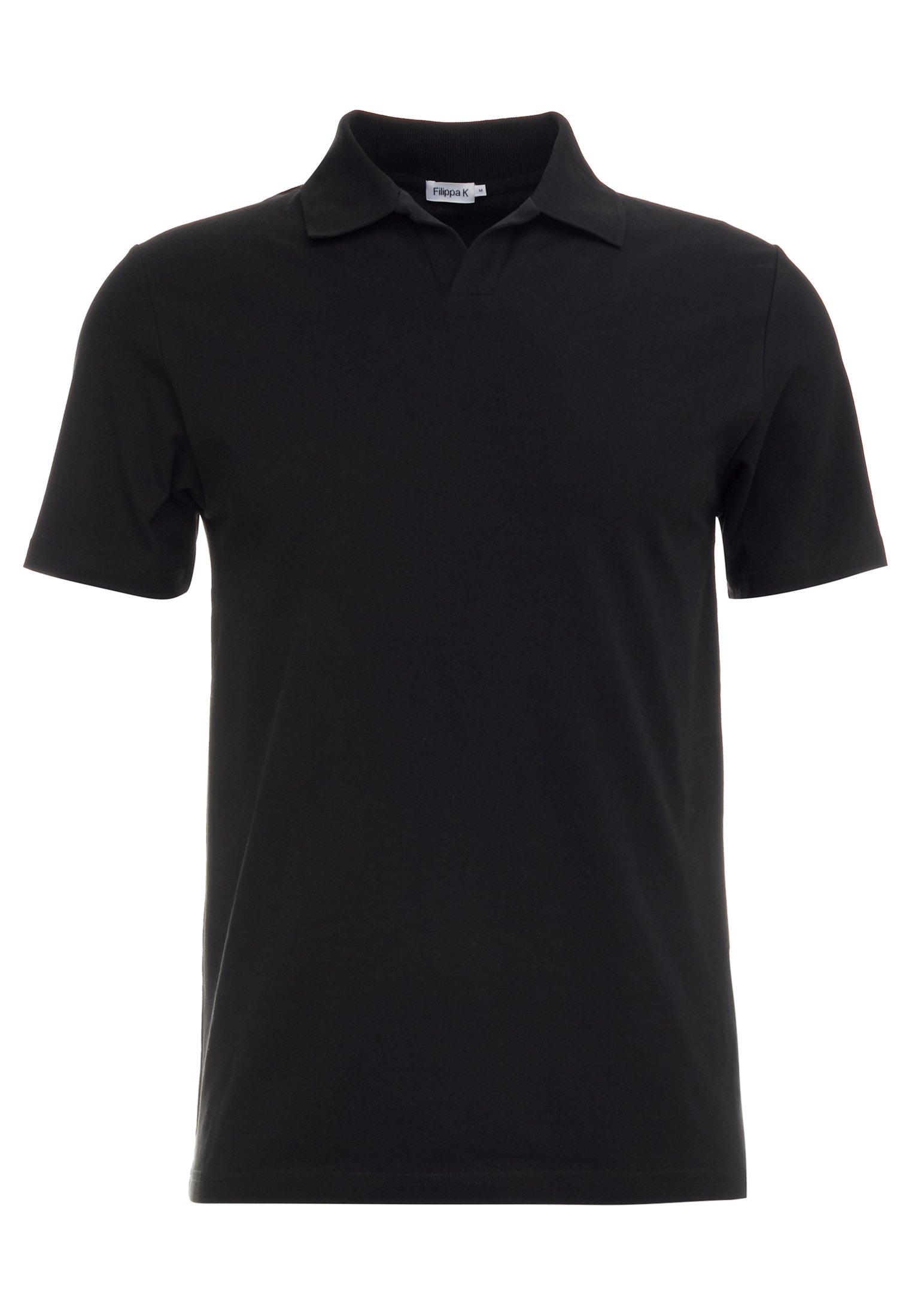 Filippa K SOFT - Polo - black