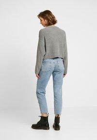 Even&Odd - CROPPED JUMPER - Pullover - grey - 2