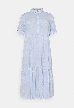 VELLO DRESS - Shirt dress - chambray blue