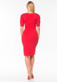 Diyas London - Shift dress - red - 3