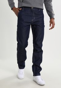 Carhartt WIP - RUCK SINGLE KNEE PANT - Jeans a sigaretta - blue rigid - 0