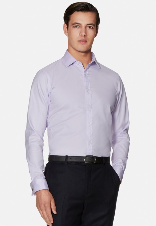 FITTED OXFORD DOUBLE CUFF - Shirt - lilac