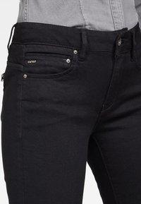 G-Star - MIDGE ZIP MID SKINNY - Jeans Skinny Fit - pitch black - 3