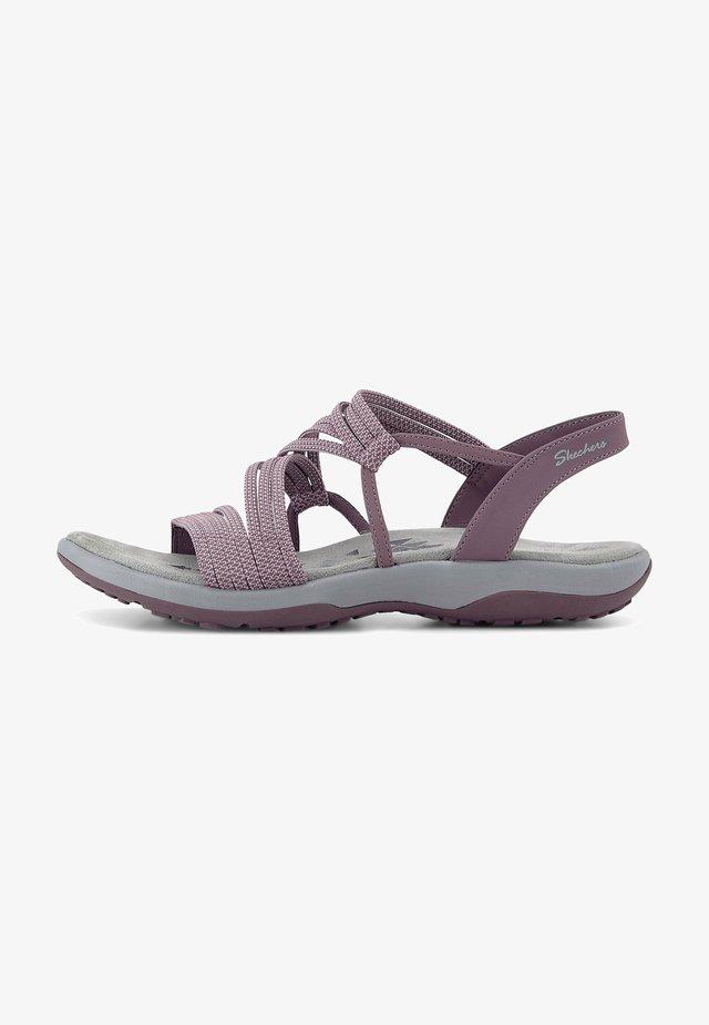REGGAE - Sandals - dunkellila