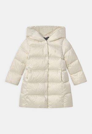 LONG OUTERWEAR COAT - Down coat - white