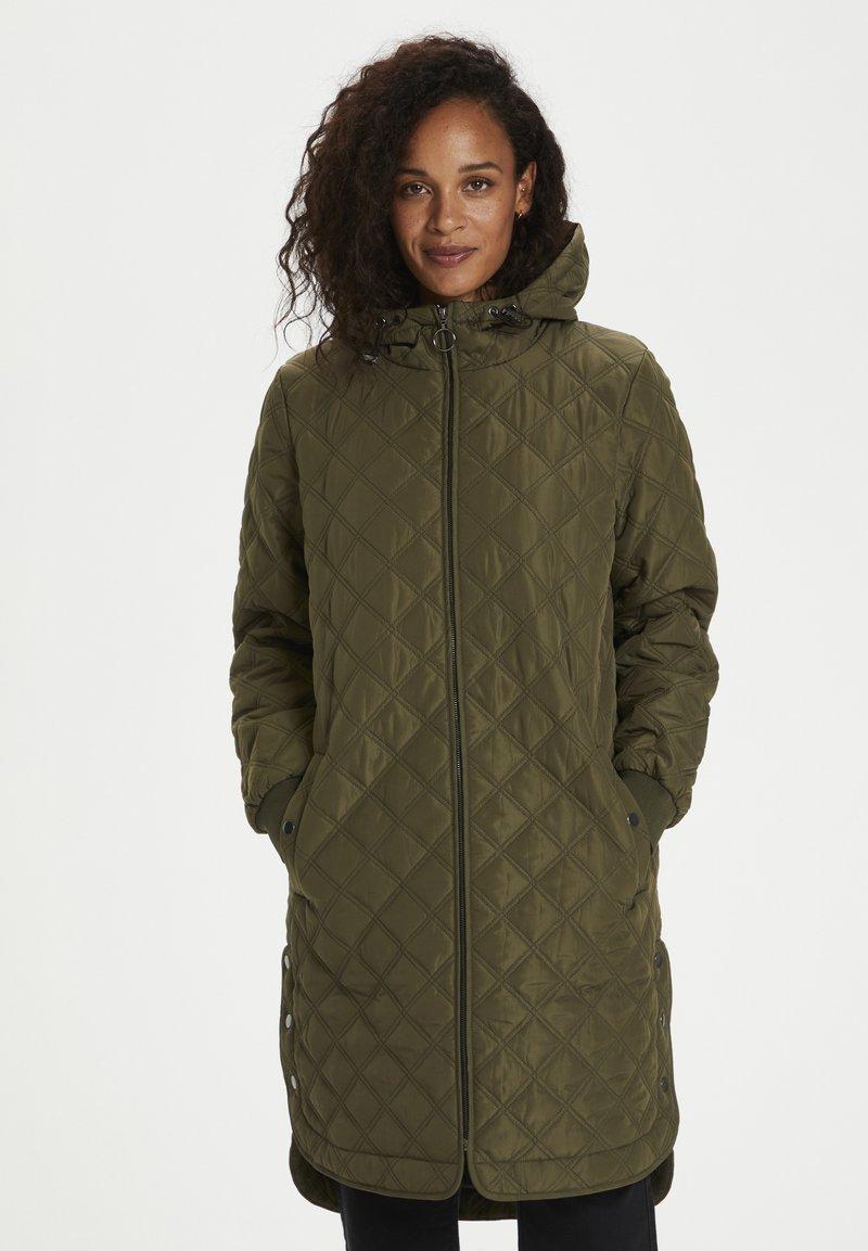 Kaffe - Winter coat - grape leaf