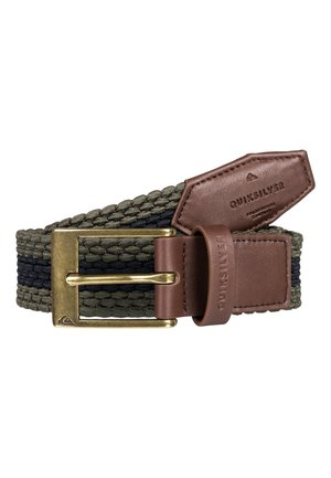 QUIKSILVER™ PLAITARY - GÜRTEL AUS GURTBAND EQYAA03893 - Braided belt - kalamata