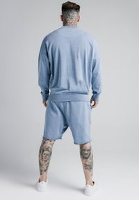 SIKSILK - CREW  - Mikina - washed blue - 2
