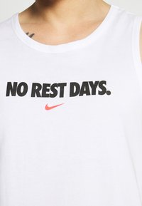 Nike Performance - TANK NO REST DAYS - Top - white - 5