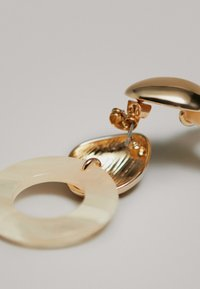 Massimo Dutti - MIT DOPPELTEM ANHÄNGER - Oorbellen - gold-coloured - 4