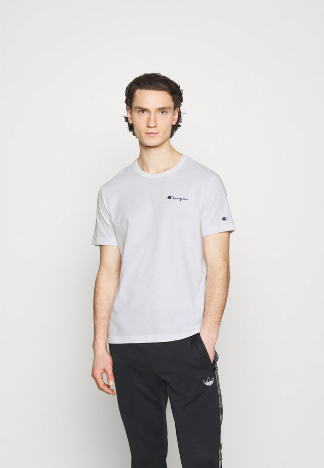 CREWNECK LABELS - Print T-shirt - white