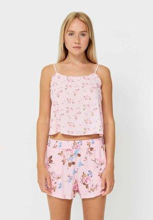 GEBLÜMTE  - Bas de pyjama - pink