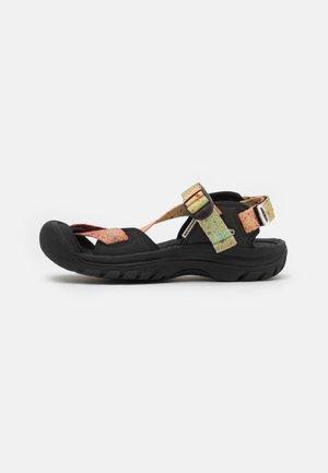 ZERRAPORT II - Chodecké sandály - multicolor/black
