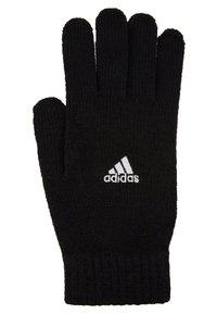 adidas Performance - TIRO FOOTBALL GLOVES - Guantes - black/white - 3