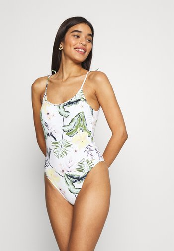 BLOOM - Swimsuit - bright white praslin