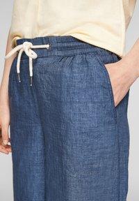 s.Oliver - Trousers - faded blue melange - 4
