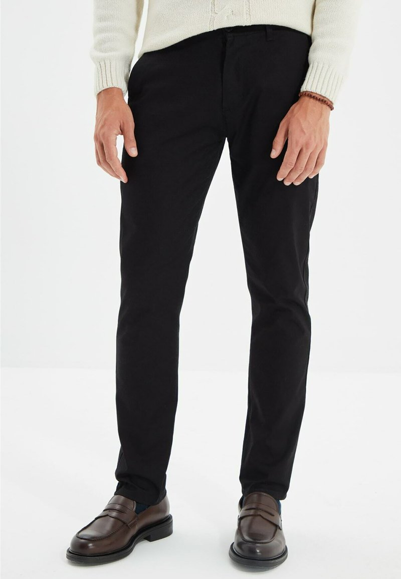 Trendyol - Pantalon classique - black
