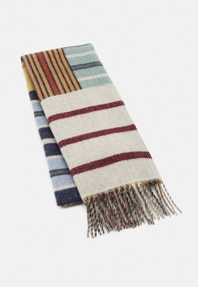 GRIFFIN - Scarf - blue/white