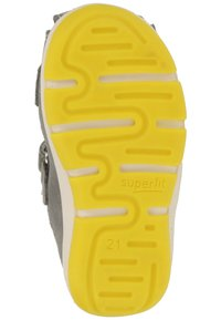 Superfit - Baby shoes - grey/yellow - 4