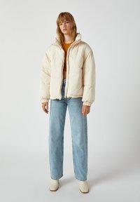 PULL&BEAR - Winter jacket - beige - 1