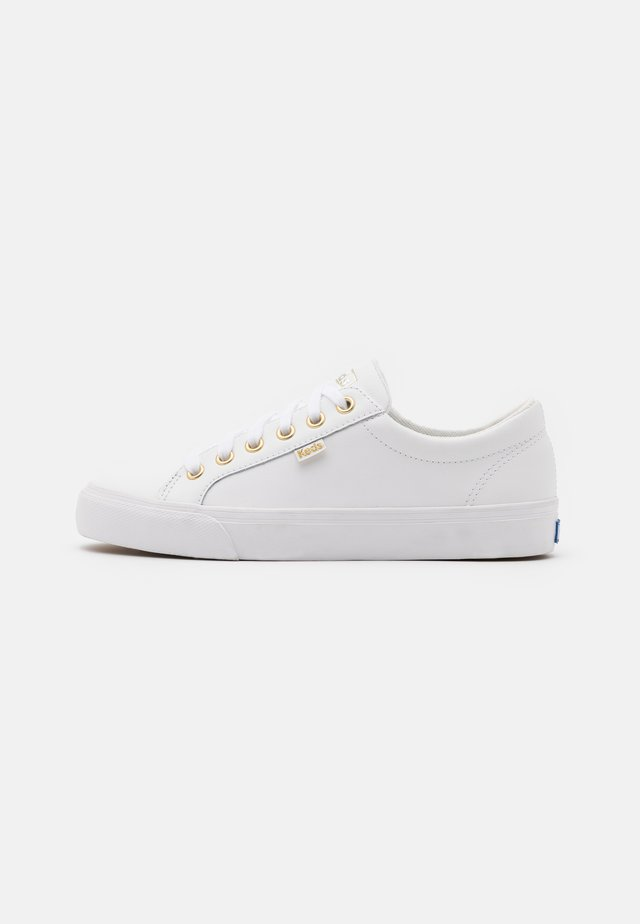 JUMP KICK - Sneakers laag - white/gold