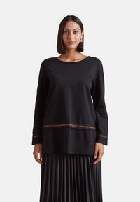 Elena Mirò - Long sleeved top - nero - 0
